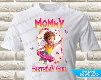 Fancy Nancy Mommy of the Birthday Girl Iron On Transfer, Fancy Nancy Iron On Transfer, Fancy Nancy Birthday Shirt Iron On Transfer
