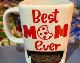 Mug With Cookie Slot Etsy