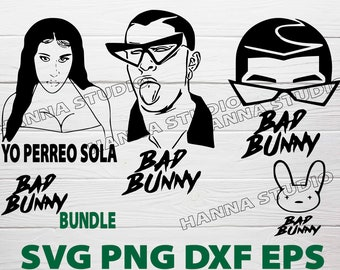 Bad Bunny Svg Bad Bunny Bugs Svg File For Diy Projects Bad Etsy