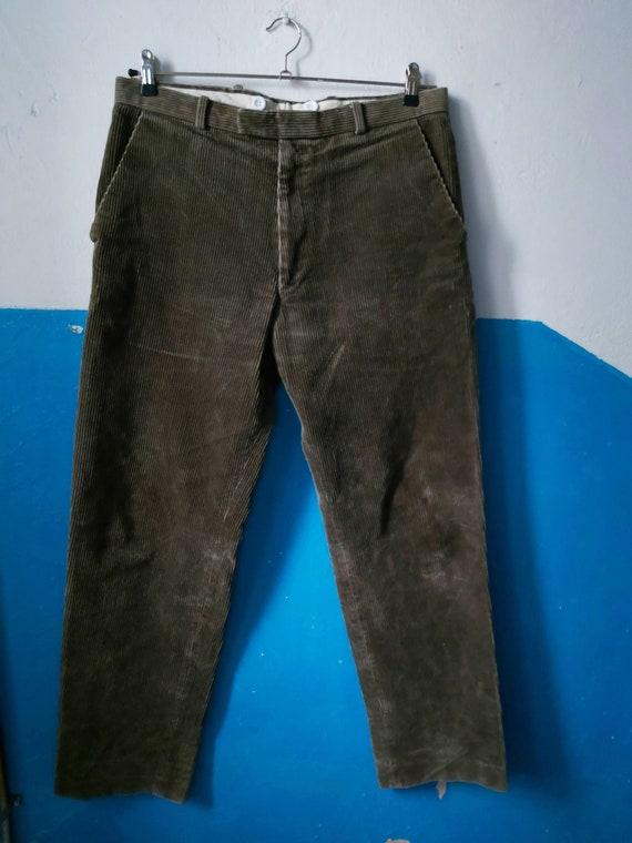 Corduroy pants 70s