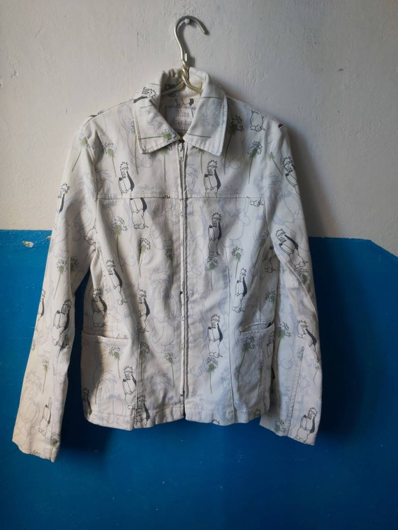 Droopy girls jacket
