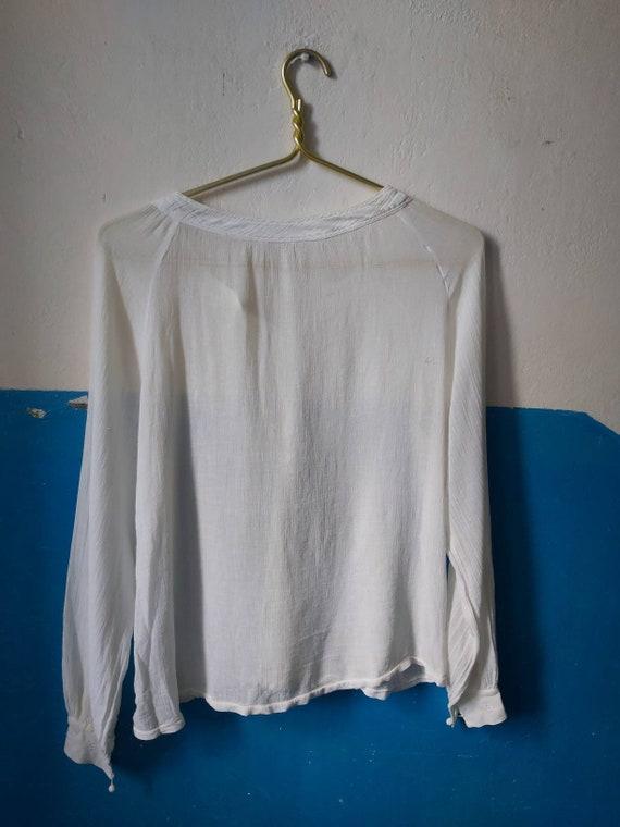 Romanian blouse 30s - image 4