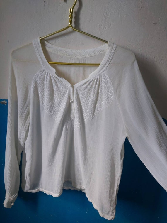 Romanian blouse 30s