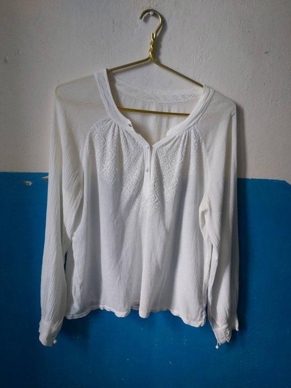 Romanian blouse 30s - image 5