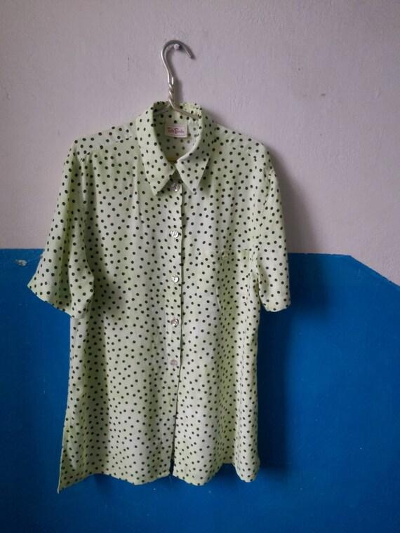 Betty Barclay Polka dot shirt