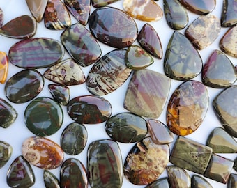 70/% Off Natural Designer Blood Stone Cabochon Blood Stone Jewelry Cabochons Crystal Loose Blood Stone Blood Stone Gemstone