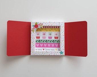 Personalizzato BEST MUM Ricordo-Mini Card Portafoglio//Borsa Carta Regalo-Regalo Mamme Giorno