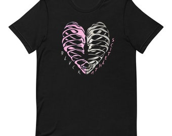 BLVCK Black Athletics Pink Heart