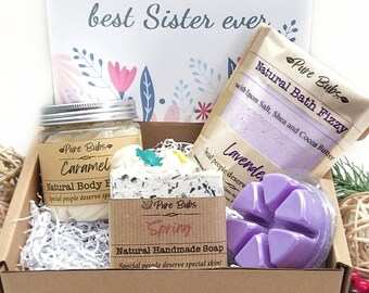 Self Care Spa Gift, Personalized Gift Box for Woman, Love Gift for Mum, Birthday Gift Box for Her