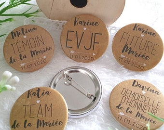 THE EVJF and EVG Badges see models