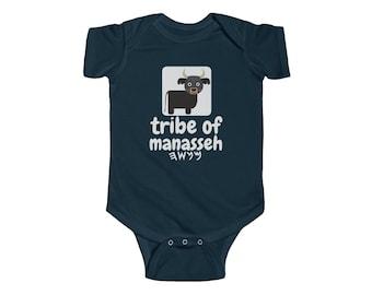 Ancient Hebrew Tribe Of Naphtali Deer Symbol Hebrew Israelite Unisex 100/% Cotton Jersey Short-Sleeve Onesie