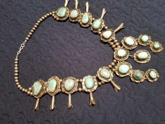 Squash Blossom Necklace - image 3