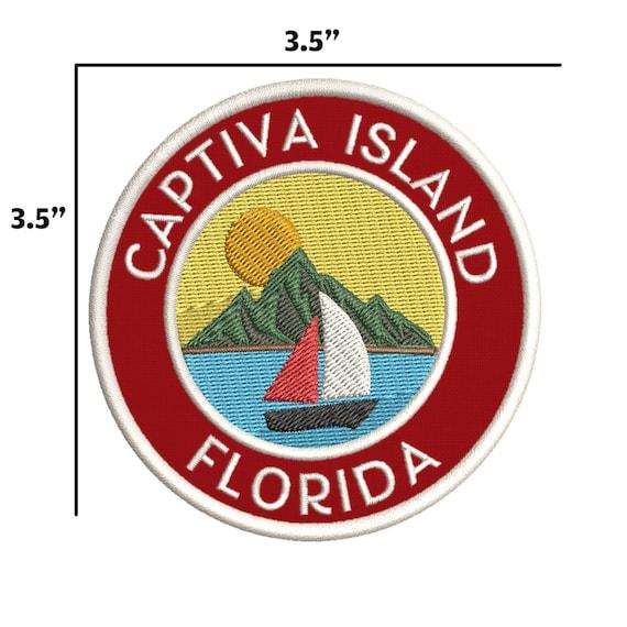 Sanibel Island Florida Embroidered Patch Iron Sew-On Souvenir Gear Applique