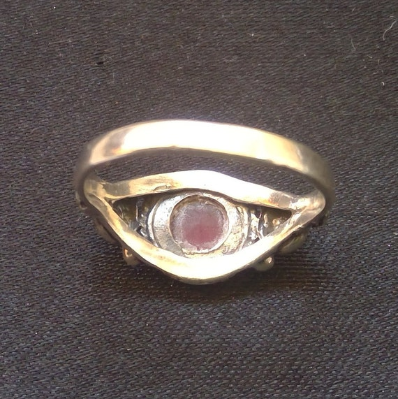 Ruby and 925 sterling silver ring - image 5