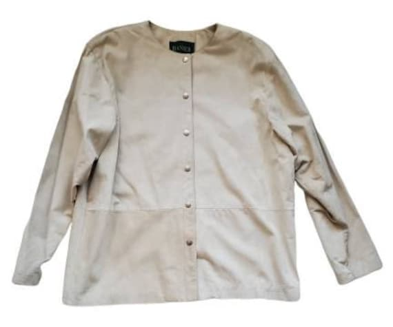 Vintage 70s Danier Suede Leather Jacket