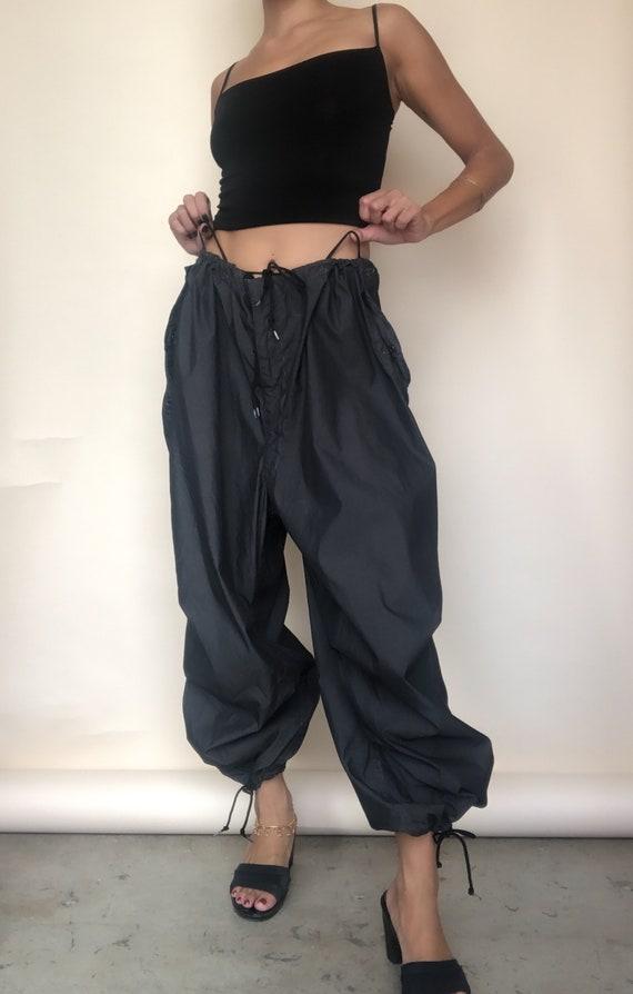 Baggy Tie-Waist Pants