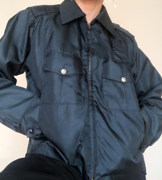Men's Black Zip Jacket