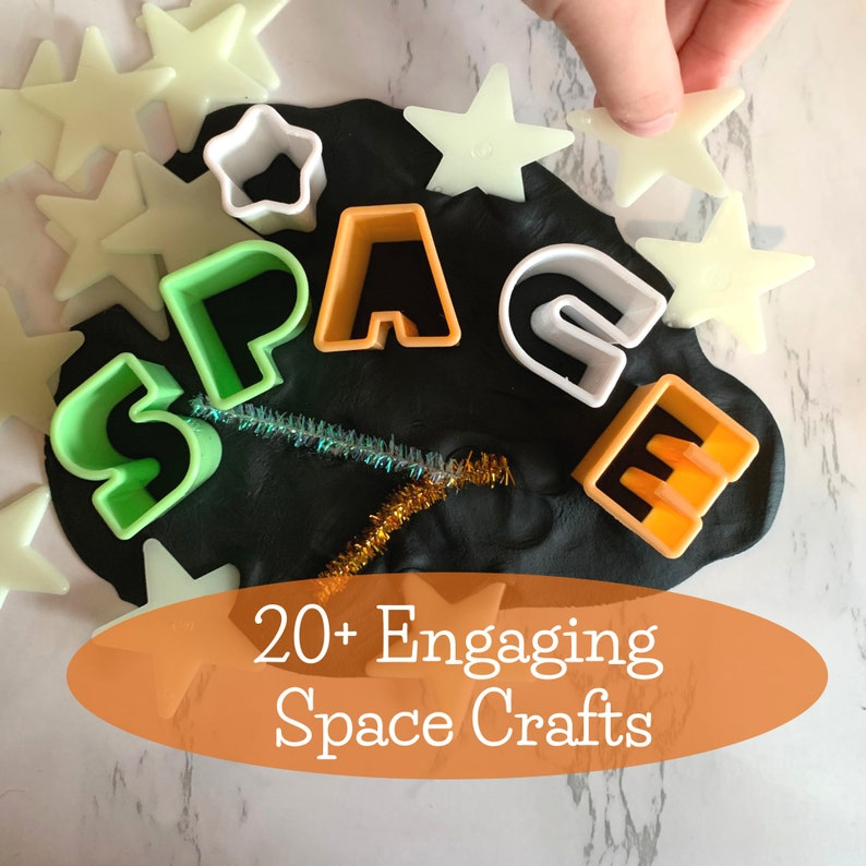 Galaxy Planets Preschool Crafts Outer Space Stars Astronaut 20+ Engaging Space Crafts Space Craft Ebook