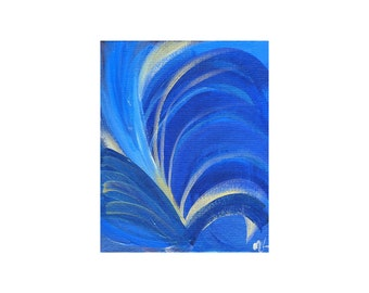 Words of Love-Limited Edition Giclee Print-'Art of Love' Chakra Series-5th Chakra