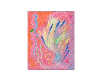 Explosive Love-Limited Edition Giclee Print from 'Art of Love' Chakra Series-2nd Chakra