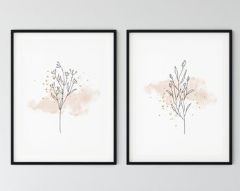 gifts art poster wallart posters gift prints watercolour Nude print