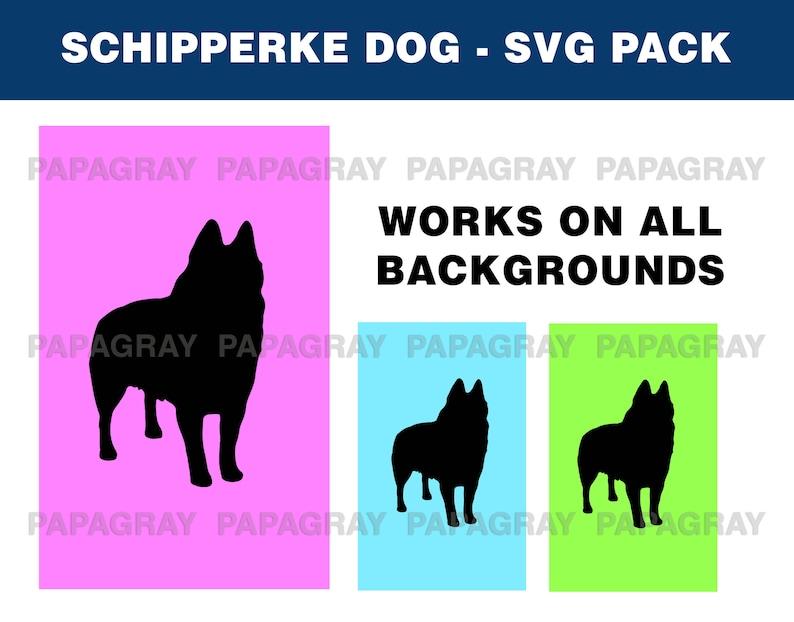 9 Designs Schipperke Dog Silhouette Pack Schipperke SVG Belgian Schipperke Dog Digital Download Belgium Schipperke Dog PNG