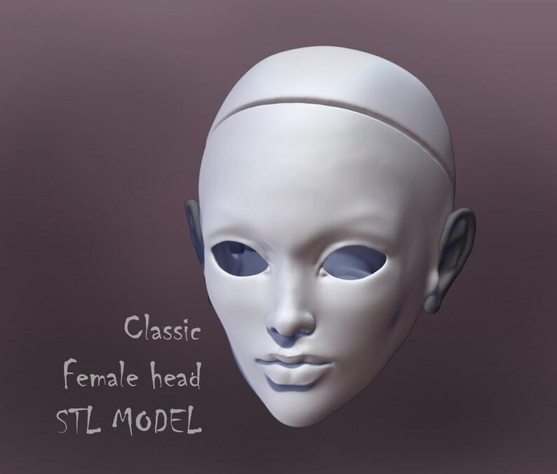 3d printer models for Resin 3d printer Princess doll Statuette  Buy 3d models BJD face Art doll \u0421ollectable doll  Fashion doll STL download