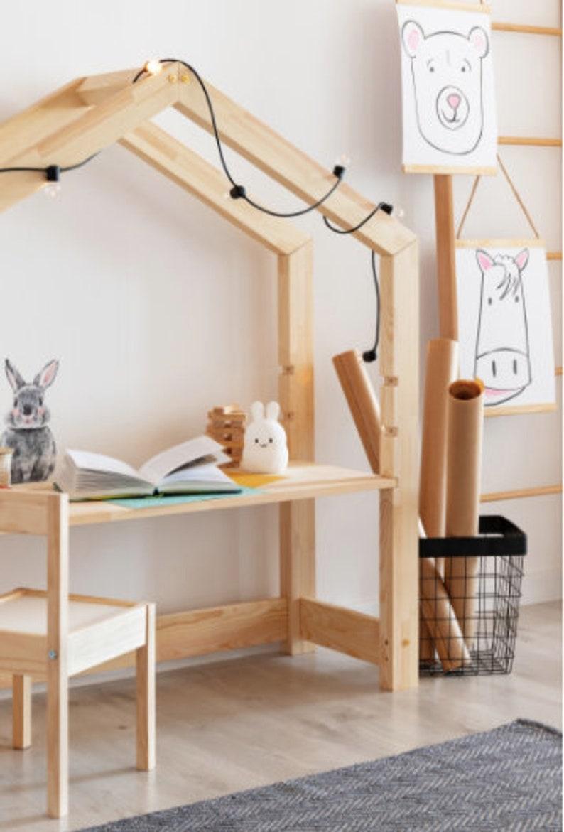 Schreibtisch Kinder Holz 2021