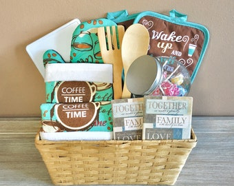 Housewarming Gift Basket, New Home, New House, Moving Day, Newlyweds, New Place, Welcome Home, First House, First Apartment, Closing Day