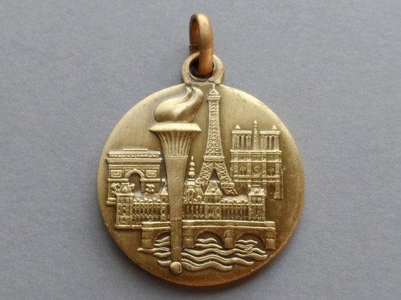 City of Paris. Travel Souvenir Medal.