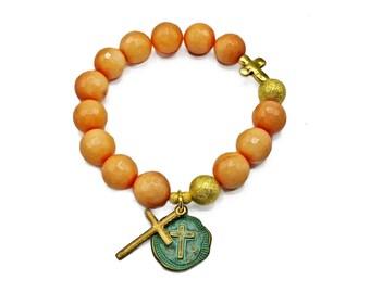 Patina Medal Bracelets