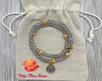 Rosary Wrap Bracelets