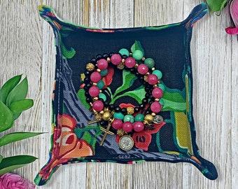 Fabric Jewelry Tray