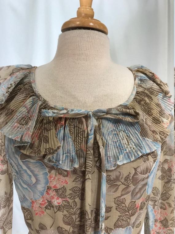 Miss Elliette floral bohemian maxi gown