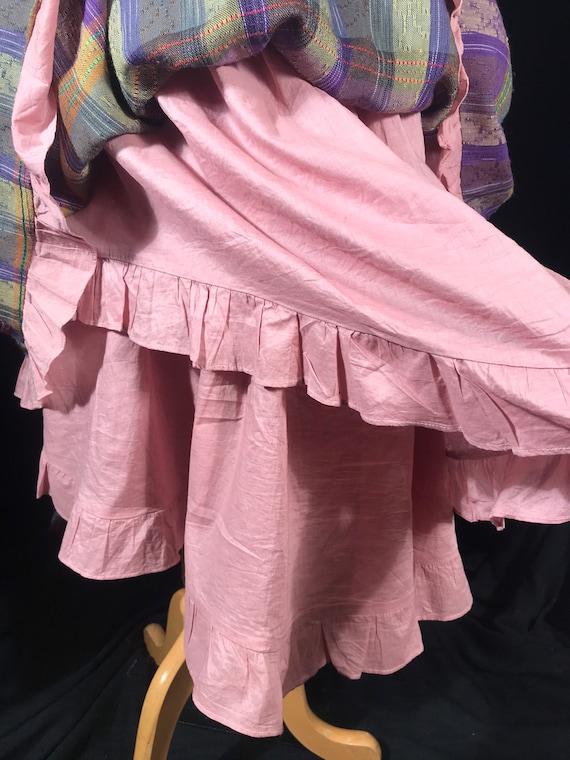 Vintage fairycore y2k plaid layered skirt by Rebl - image 6