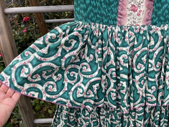 Vintage cottagecore square dance dress - image 2
