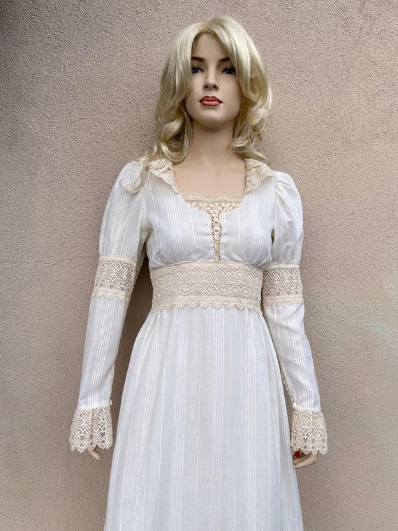 Amazing white Gunne Sax fairytale dress size S