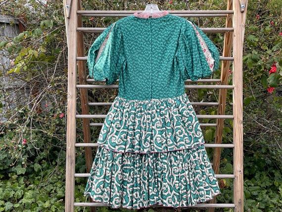 Vintage cottagecore square dance dress - image 4