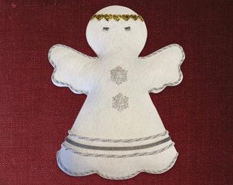 Christmas Angel Wreath Attachment, Angel Wreath Attachment, Wreath Making Supplies,