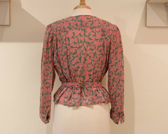 Handmade Pink Floral Two Piece Set - image 5