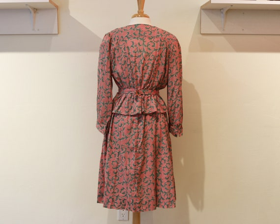 Handmade Pink Floral Two Piece Set - image 2
