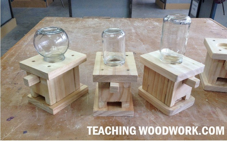 Candy Dispenser Woodworking Plans  For Woodwork Teachers and image 0