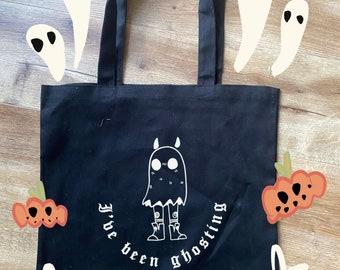 Ghosting tote bag