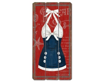Swimsuit Wooden Sign