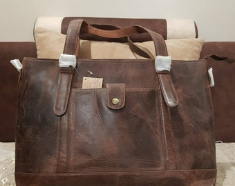 Leather tote bag, leather tote with zipper, leather tote bags women, leather tote with zip, leather tote handbag, leather tote bag with zip