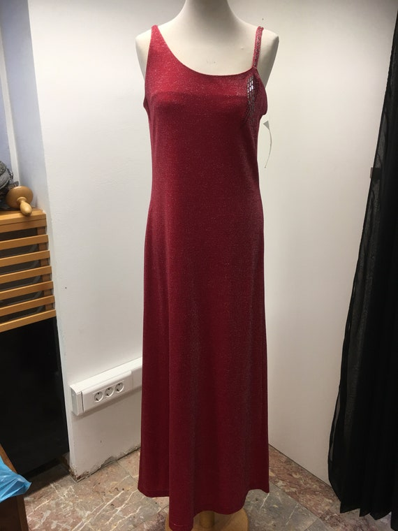 Women's 90's Vintage evening gown | Ladies Cherry
