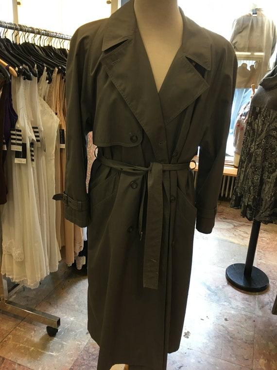 Women's Vintage 80's trench coat | double breaste… - image 2