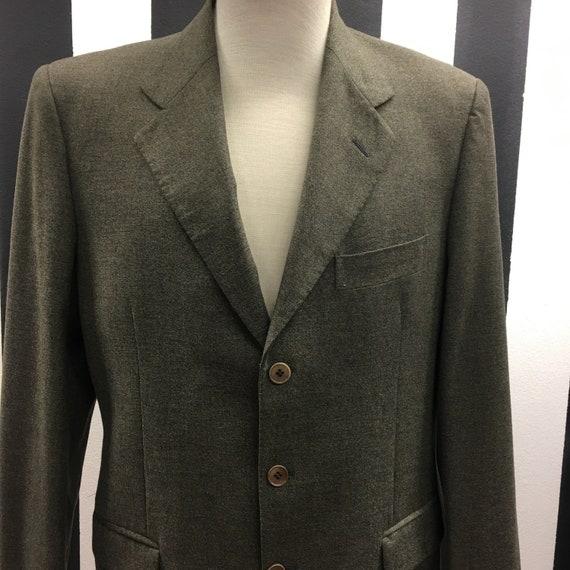 Men's Vintage 90's blazer | Moss green blazer | Me