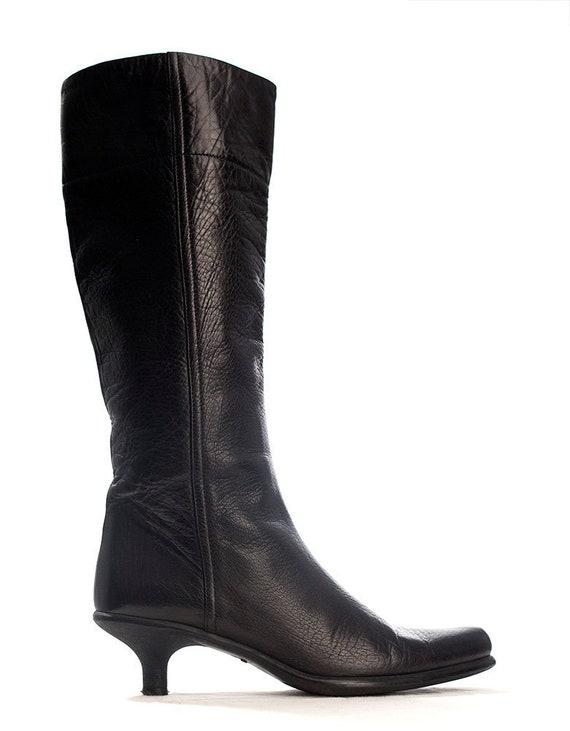 Women's 90's designer boots by Miu Miu | ladies bl