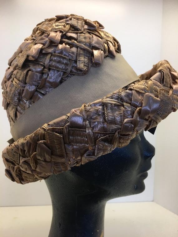 Women's Vintage 60's hat | summer headwear | raffi